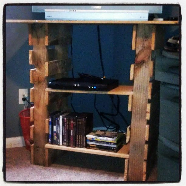 17 best images about bookcase on pinterest pallet boards for Upcycled entertainment center