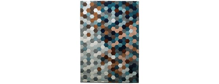 BoConcept Design Sale - Save up to 20% on stylish rugs and trendy lamps - kaleidoscope rug