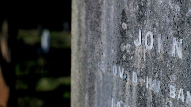 John. A forgotten headstone in Waikumete cemetery Auckland, New Zealand