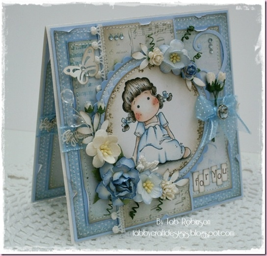 Sweet Tilda from Sweet  Rainbow Collect from  Magnolia stamps