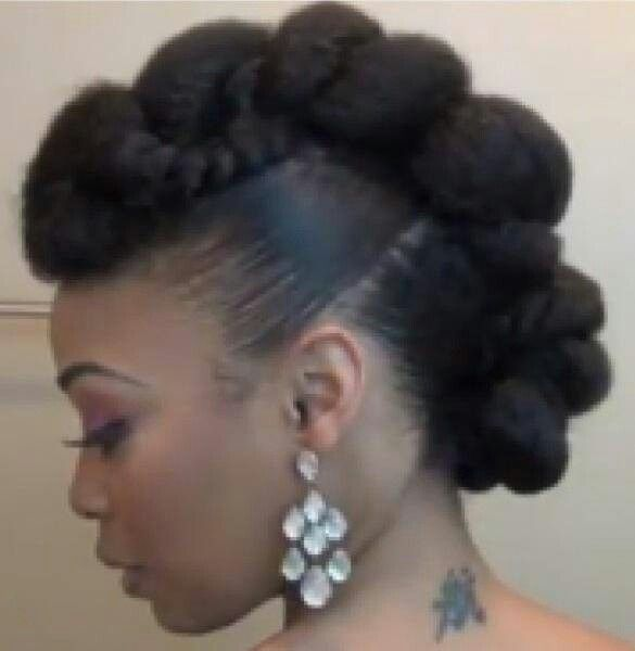 Natural hair updo. I want this style..now!                                                                                                                                                                                 More