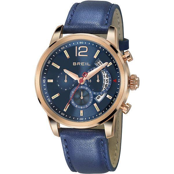 Cronografo Uomo Breil Miglia Acciaio Blu Sportivo TW1373