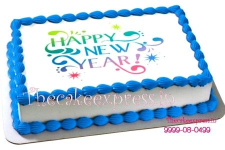 Beautiful Happy New Year Cake New Year Cakes Online New Year Cake