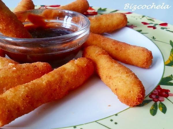 Palitos de pollo con queso: Finguers de pollo | Cocinar en casa es facilisimo.com