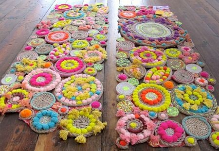 Love these rope rugs. Cute!!!