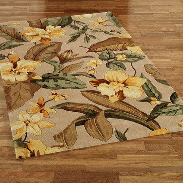 Exotic Fl Tropical Area Rugs