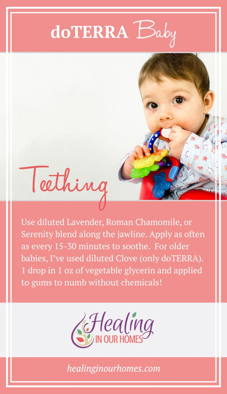 For A Natural Way To Help Cope With The Terrible Teething