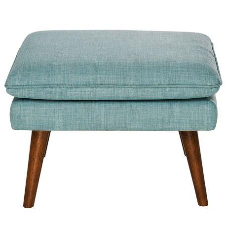 Retro Ottoman (Hazelnut Leg) | freedom Furniture and Homewares
