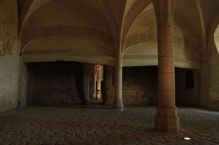 one of the former kitchens at Chateaudun (photo courtesy of Albert Smith)