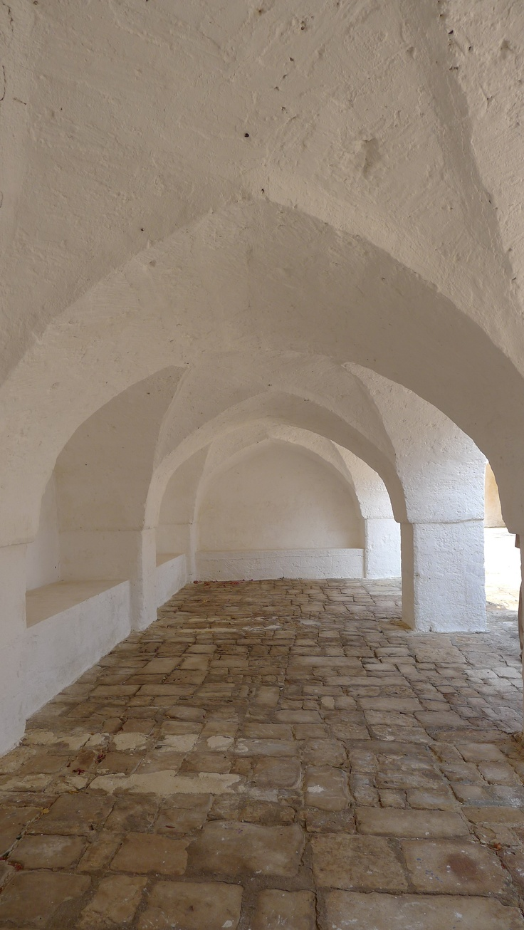 star vaulted spaces found in Puglia