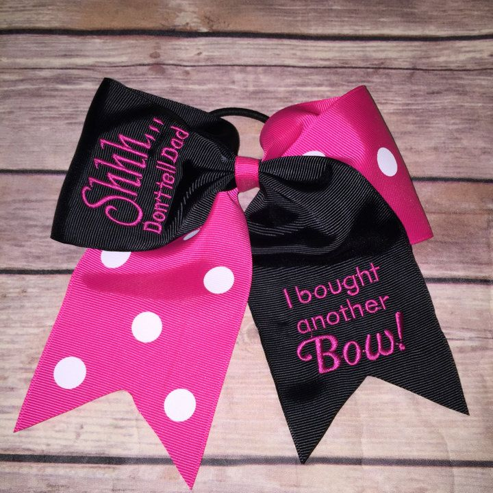 Etsy Cheer Bow, Embroidered Cheer Bows, cheerleading, Funny Cheer Bow, dance bows, bows for dance, big bo
