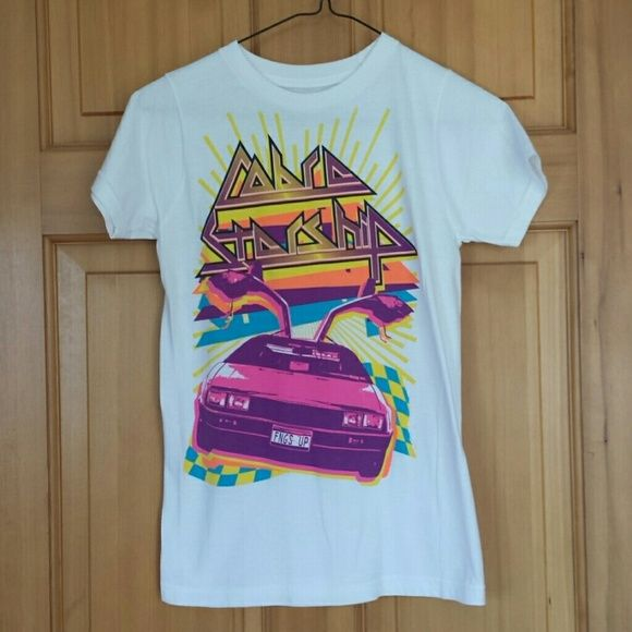 Cobra starship tshirt Small hole in arm shown in picture Tops Tees - Short Sleeve
