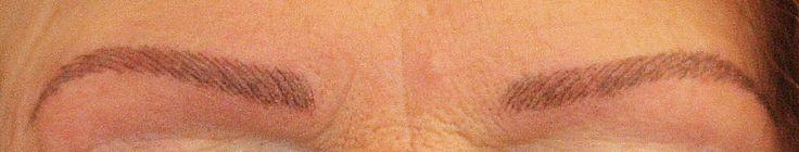 Augenbrauen Conture® Make-up - mit feinster Härchenzeichnung für natürlich betonte Augenbrauen! 24 Stunden am Tag perfekt geformte Augenbrauen, ohne Nachzeichnen!