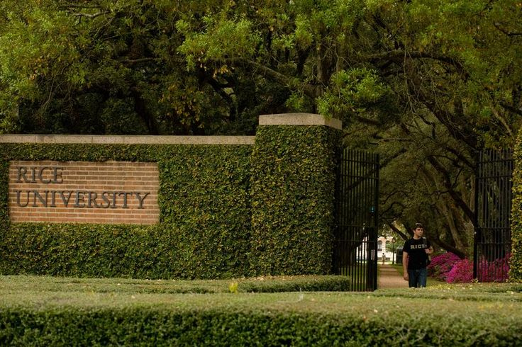 Rice University - always in the top of the college lists <3