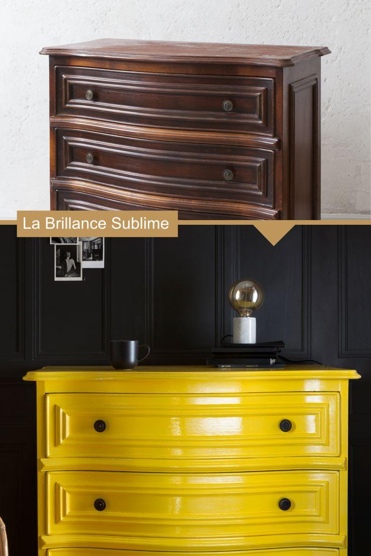Comment moderniser un meuble ancien avec notre peinture la brillance sublime le diy complet - Moderniser un meuble ...