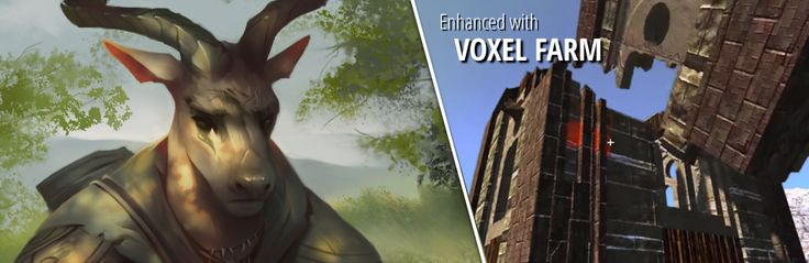 #ArtCraftEntertainment have announced that #Crowfall, their upcoming #MMORPG, will make use of the #VoxelFarm engine.  http://ultimacodex.com/2015/02/crowfall-powered-by-voxel-farm-also-stalker-class-revealed/