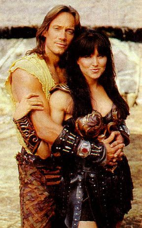 I'd sooner believe that Hercules and Xena are lovers, rather than Xena and Gabrielle. Never liked the subtext in the show anyway.