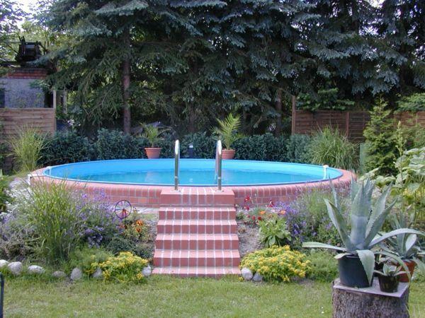 Effektvolle Poolgestaltung Im Garten Poolimgartenideen
