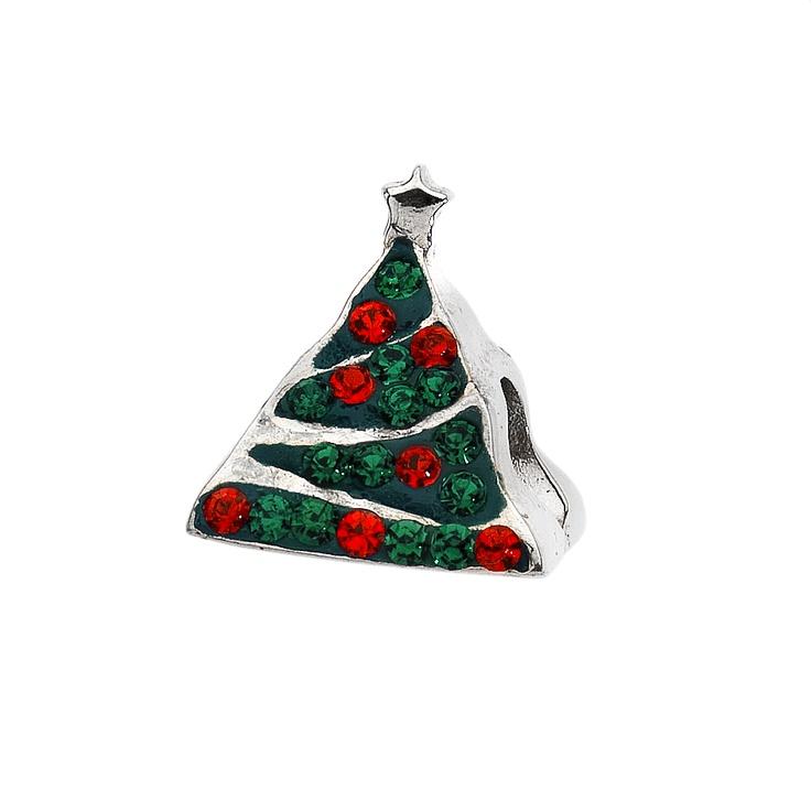 Amore & Baci special Christmas tree Svarowski bead