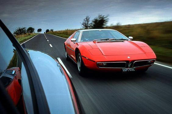 In your rearviewmirror, Maserati Bora.