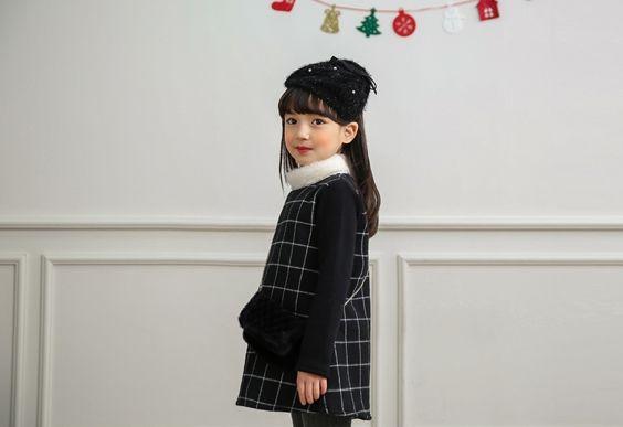 Korea children's No.1 Shopping Mall. EASY & LOVELY STYLE [COOKIE HOUSE] Bag Set Check One Piece / Size : 5-15 / Price : 41.72U USD #dailylook #dailyfashion #fashionitem  #kids #kidsfashion #top #longT #TEE #dress #onepiece #checkonepiece #COOKIEHOUSE #OOTD http://en.cookiehouse.kr/ http://cn.cookiehouse.kr/ http://jp.cookiehouse.kr/