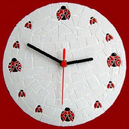 Relógio de mosaico