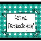 Let Me Persuade you! is a board game designed to get the children's minds thinking of ideas very quickly. It is fun and engages the children in the...
