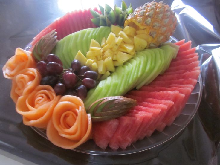 fruit tray ideas peaches fruit