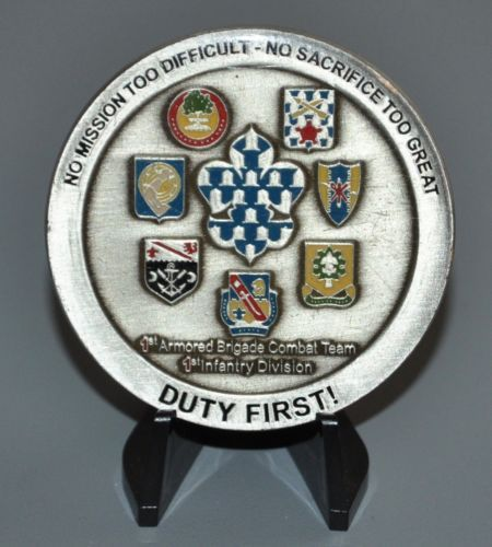 US-Army-1BCT-1st-Brigade-1st-Infantry-Division-Devil-BDE-1ID-Challenge-Coin