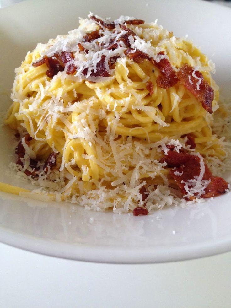 Täydellinen pasta carbonara