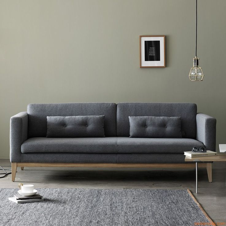 M s de 25 ideas incre bles sobre sof s de color gris for Sofa gris oscuro