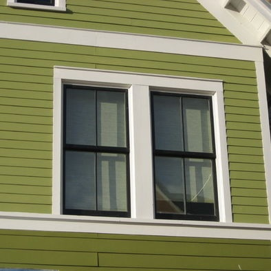 trim traditional exterior side ideas colors side black window trim