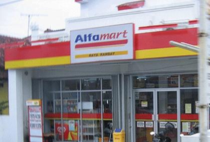 alfamart building..