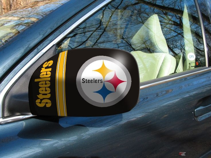 Customize your Car or Truck and show your team pride with this Pittsburgh Steelers Small Mirror Cover by Fanmats. These Mirror Covers are the greatest game day and tailgating accessory for the season!