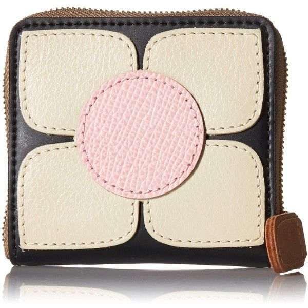 Orla Kiely Square Flower Applique Square Zip Purse Wallet (8.465 RUB) ❤ liked on Polyvore featuring bags, wallets, zip bags, orla kiely wallet, zipper bag, credit card holder wallet and square wallet
