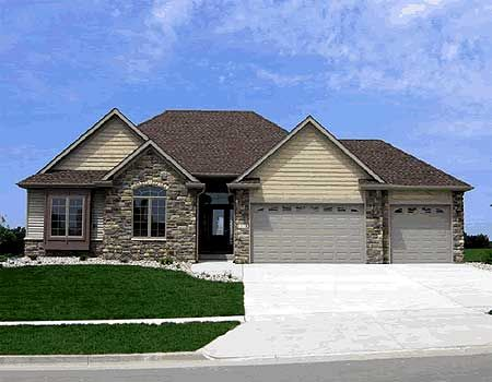43 best images about house plans under 1800 sq ft on for 3 car garage ranch home plans