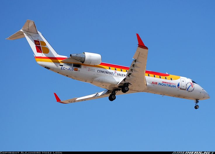 Bombardier CRJ-200ER (CL-600-2B19) - Air Nostrum (Iberia Regional) | Aviation Photo #1453639 | Airliners.net