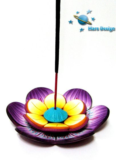 Incense stick holder by Marcia - Mars design, via Flickr
