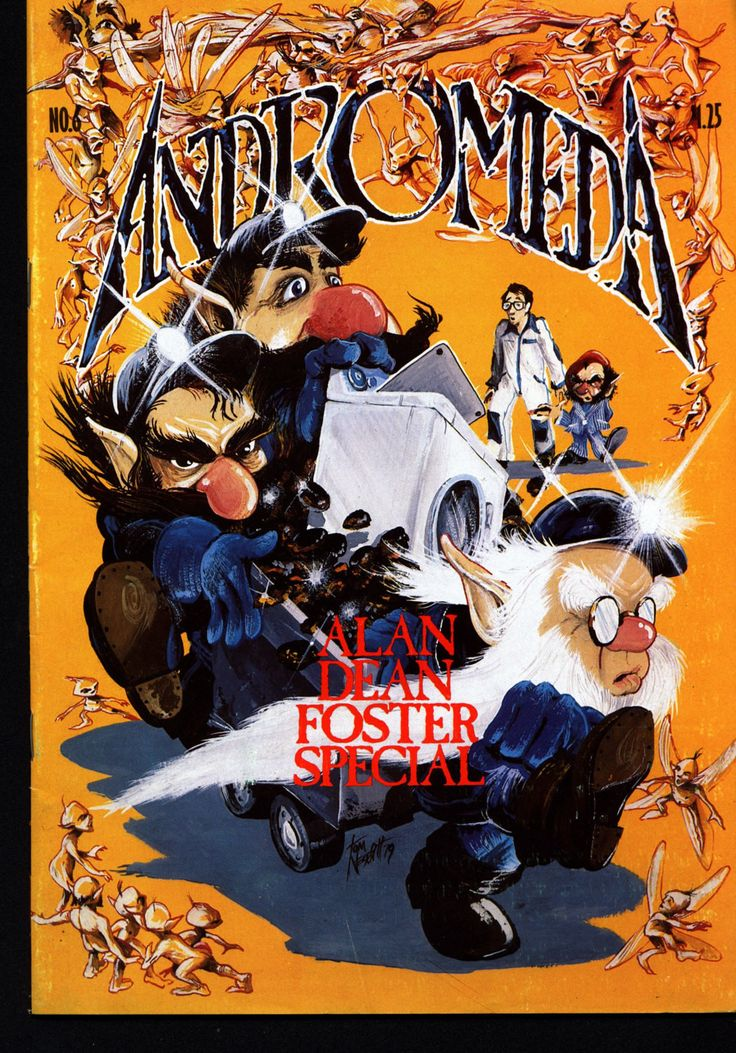Andromeda #6 1979 Canadian Science Fiction Alternative Independent Comic Alan Dean Foster Hsu Steacy Rivoche Dean Motter