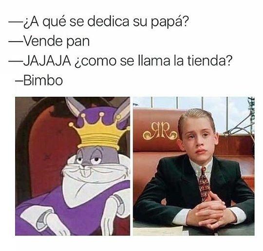 ★★★★★ Memes chistosos en español: Cuando tu padre es importante (muy importante)…