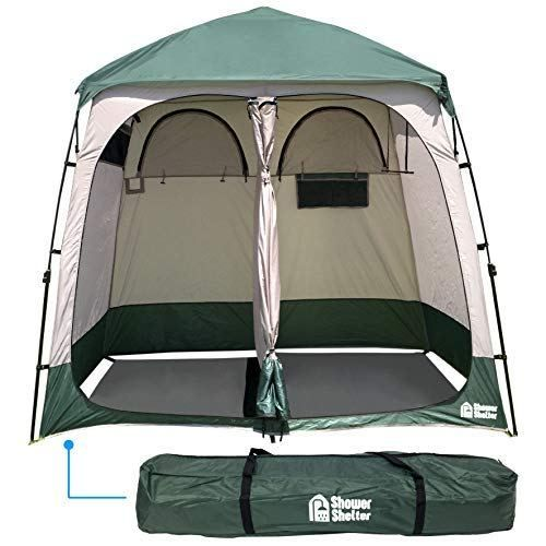 camping shower tent car