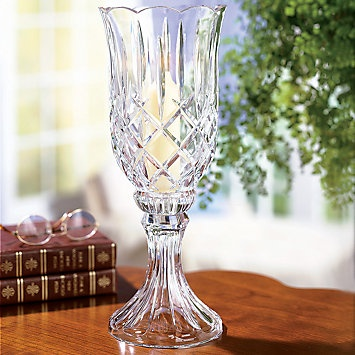 Gorham 174 Lady Anne 2 Piece Footed Crystal Hurricane Lamp Things I Like Pinterest Lady