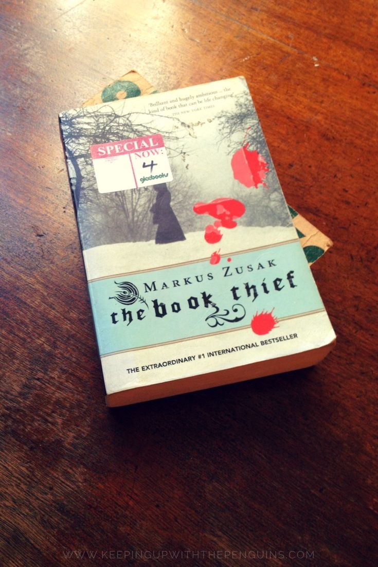 I'm not gonna lie: The Book Thief starts out pretty heavy. Turns out, it's narrated by Death (how post-modern!). Death tells us we're in Nazi Germany, it's cold as balls, a kid dies on a train, and his mother and sister have to bury him quick smart... #thebookthief #markuszusak #bookreview