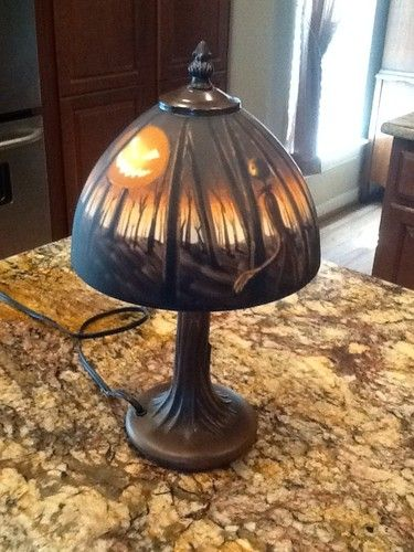 The Nightmare Before Christmas Tiffany Style Touch Lamp Jack | EBay