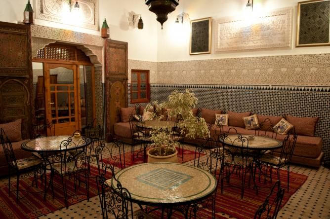 Riad in Fes | © Anna & Michal/Flickr