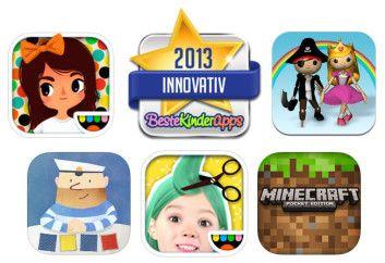 Kinder App Preis 2013: Innovative Apps & Spiele