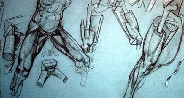De FRANK PORCU o la anatomía para artistas. | Cultura, arte y diseño mexicano | Inkult Magazine
