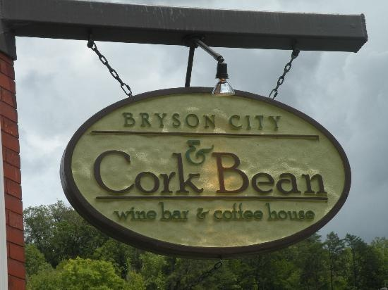 The Cork and the Bean~ Bryson City, NC - southern hospitality alive and well  :)