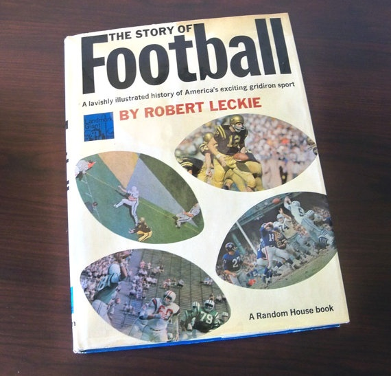 The Story of Football by Robert Leckie by leapinglemming on Etsy, $16.95