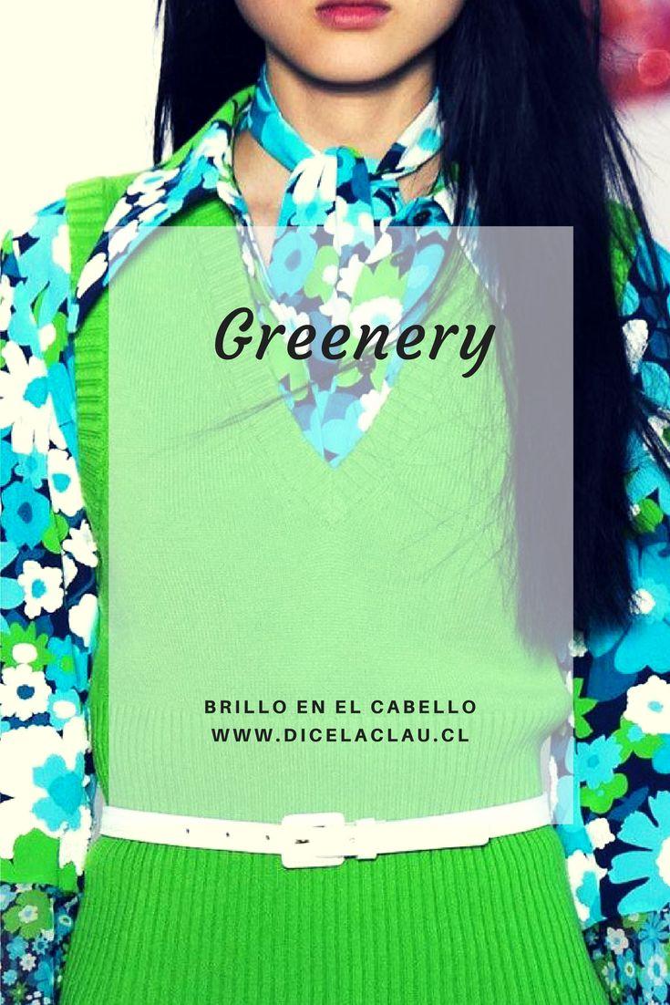 El greenery es el color del año de Pantone y acá sabrás cómo combinarlo.